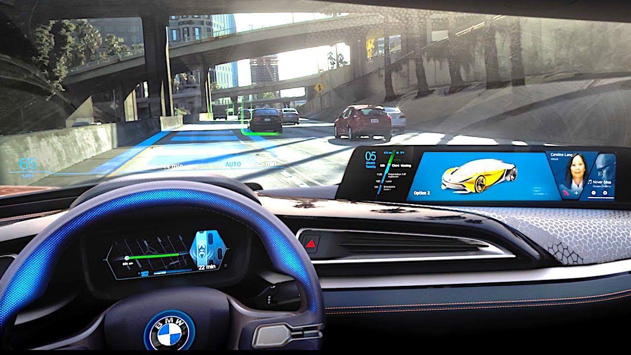 Bmw Self Driving Car Demonstration Bmw I8 Roadster 2018 Bmw
