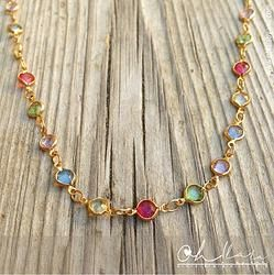 Color Goldfield Necklace | 1043