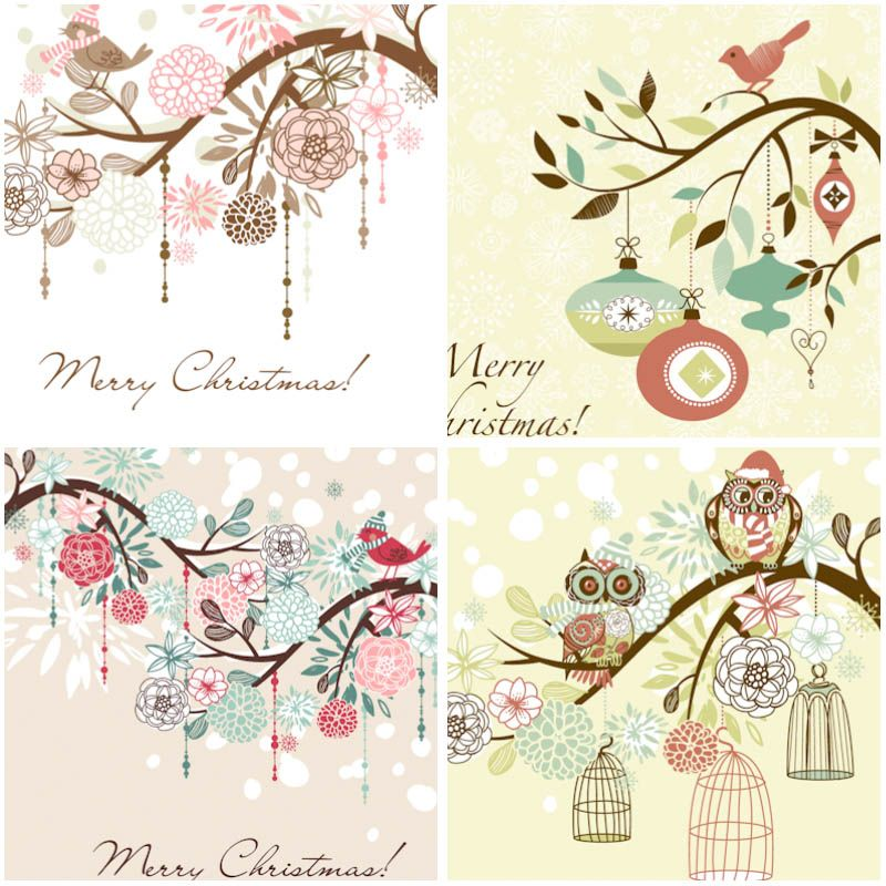 Winter background with birds vector free for download and ready for print. Over 10,000+ graphic resources on vectorpicfree.
