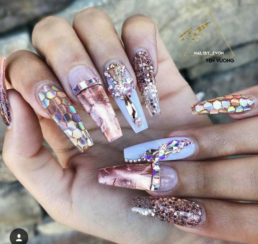 Pin by Opal Menchan on Nail Designs | Pinterest | Nail nail, Nails ...
