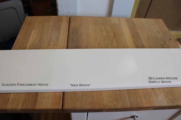 What color is Ikea white, anyway? | newjersey/oldhouse