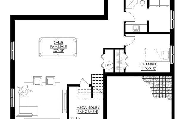 Plan De Maison Moderne   Legu Architecture  Plansss