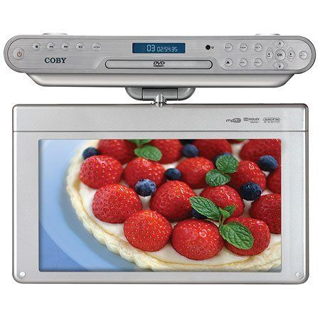 15 6 under the cabinet digital tv dvd combo ktfdvd1560 by coby