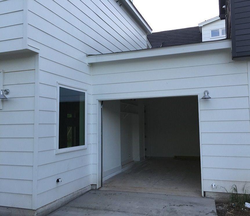 Full View Residential Garage Door Installation Before U0026 After   Garage Door  Repair Austin TX   PSR