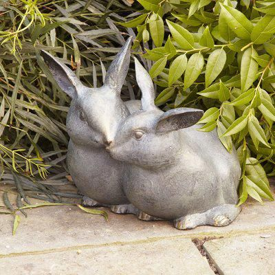 Darby Home Co Apodaca Bunny Key Box Statue