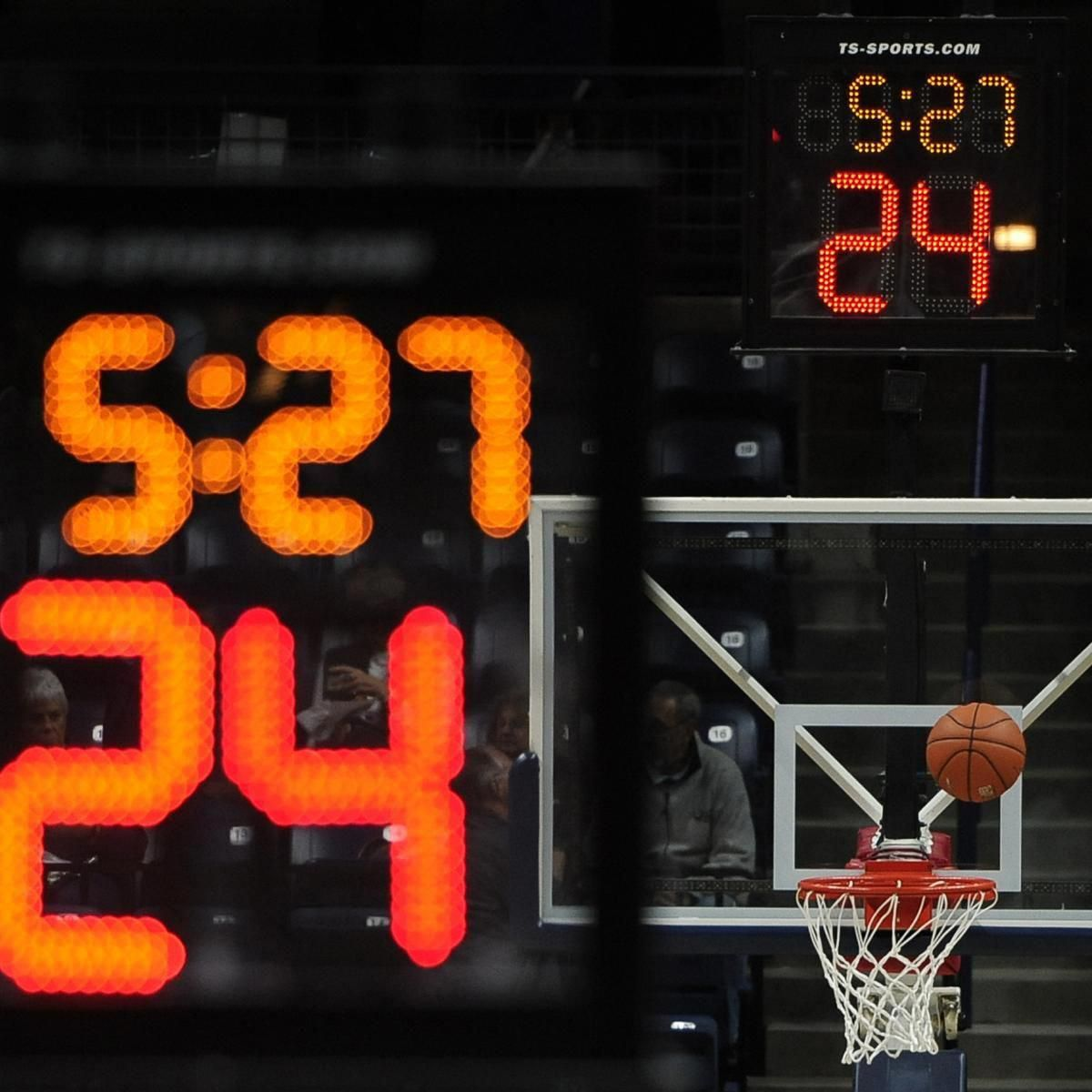 Nba Board Of Governors Approves Shot Clock Clear Path Foul Rule Changes Clock Basketball Rules Rebounding