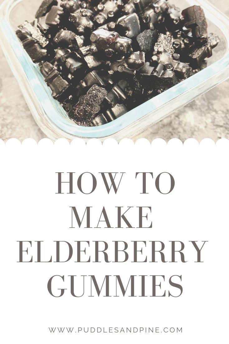 How to make elderberry gummies elderberry gummies