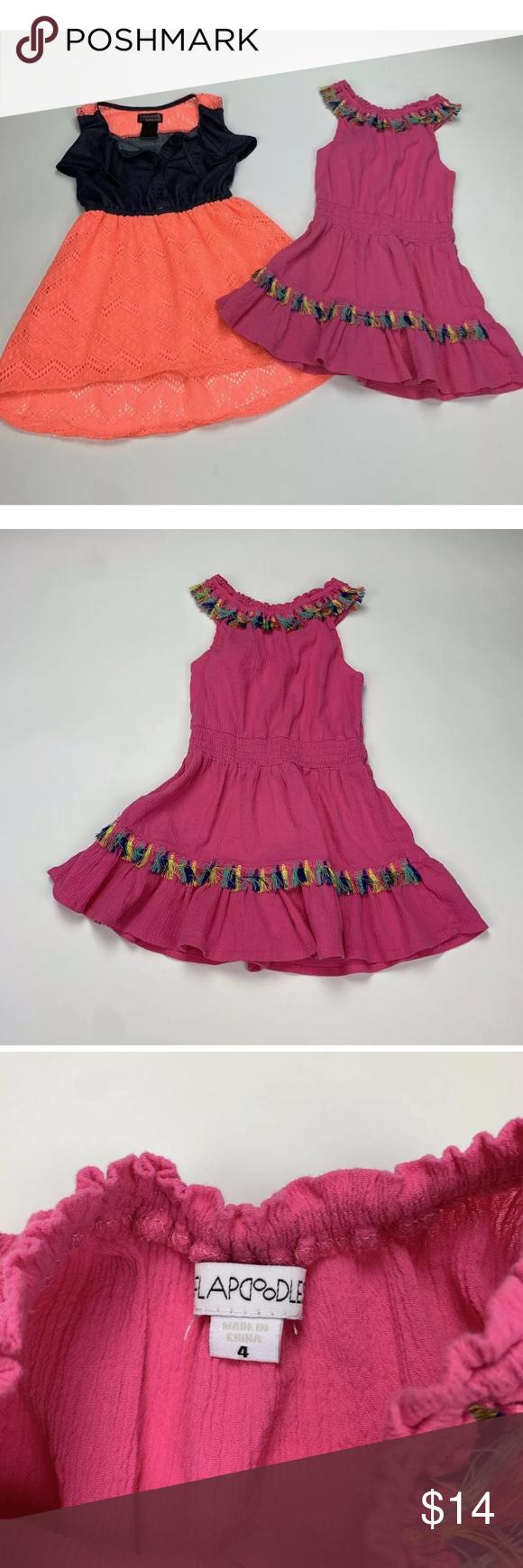 Toddler Girl Summer Dresses Bundle Toddler Girl Size 4t 4 Summer Dresses Pink Flapdoodles Sl Toddler Girl Dresses Summer Girls Dresses Summer Summer Dresses [ 1740 x 580 Pixel ]