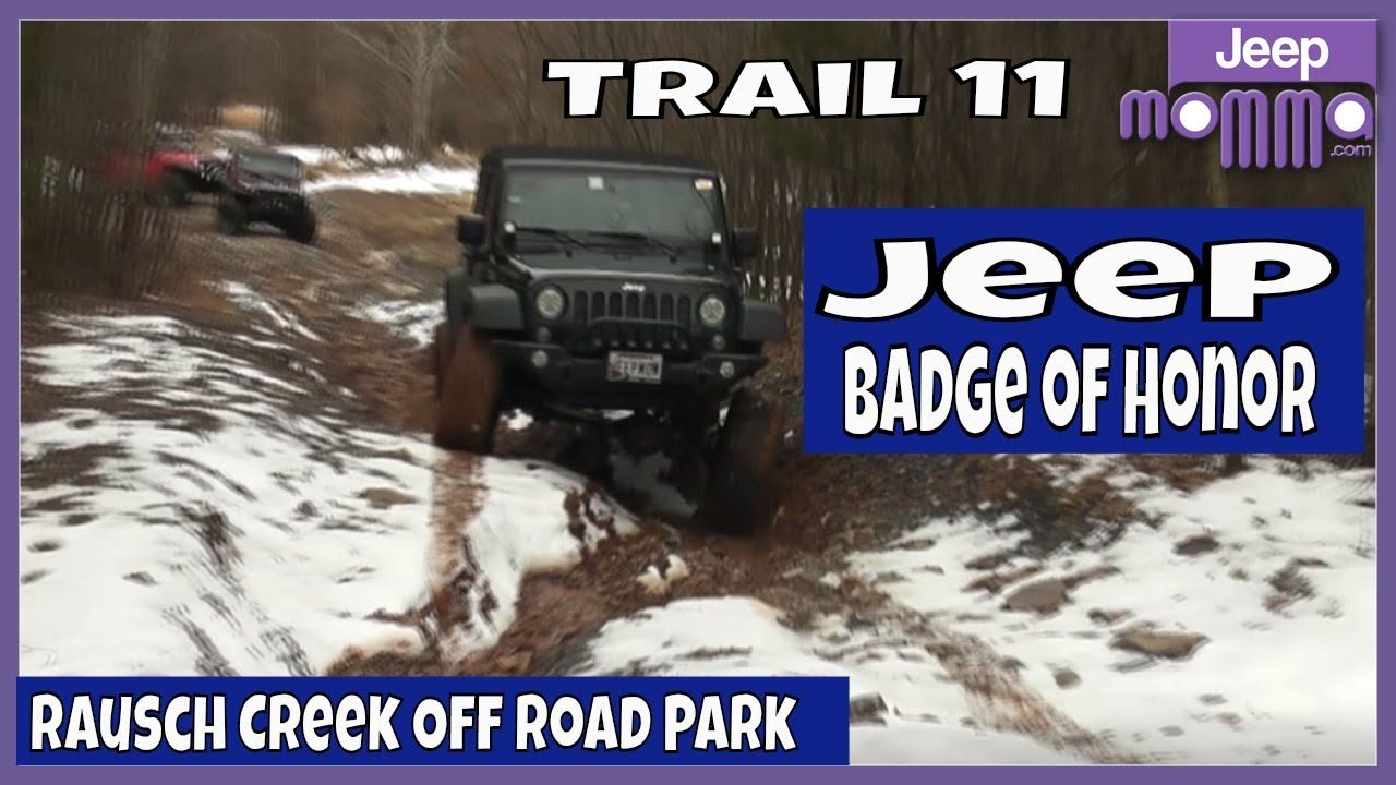 Jeep Badge Of Honor Trail 11 Obstacles At Rausch Creek Off Road