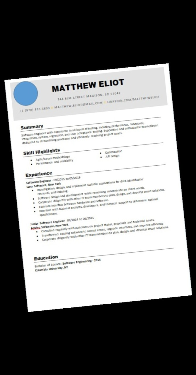 Template De Resume Professionnel Cv Payhip Try It Free Ebook Start Up