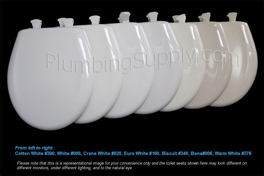 Toilet Seat Color Cross Reference Toilet Seat Reference Chart