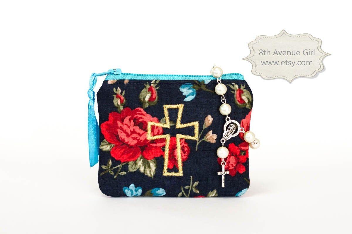 Rosary Purse Floral Design