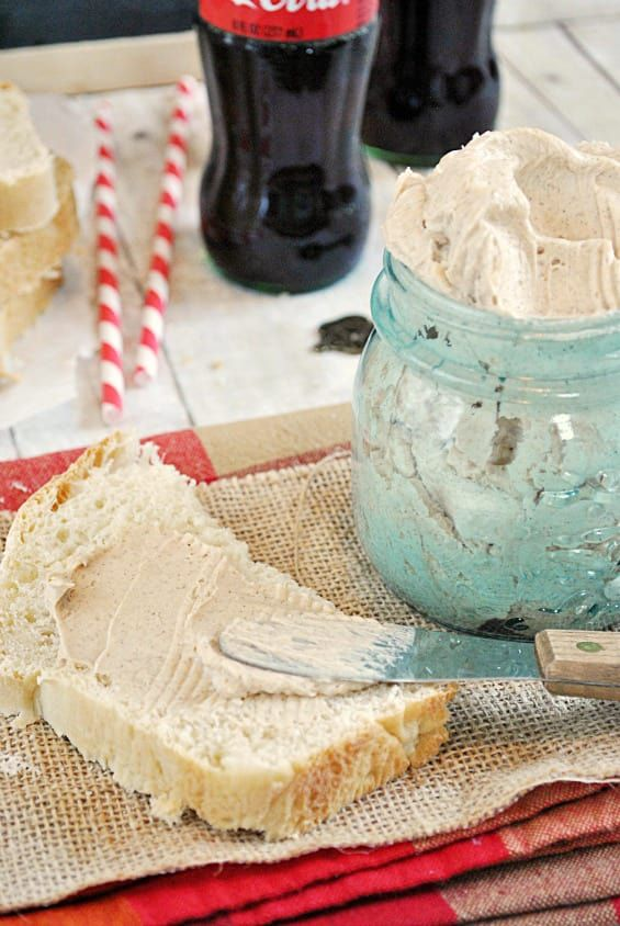 Delicious cinnamon butter is easy to make. And even easier to eat!
