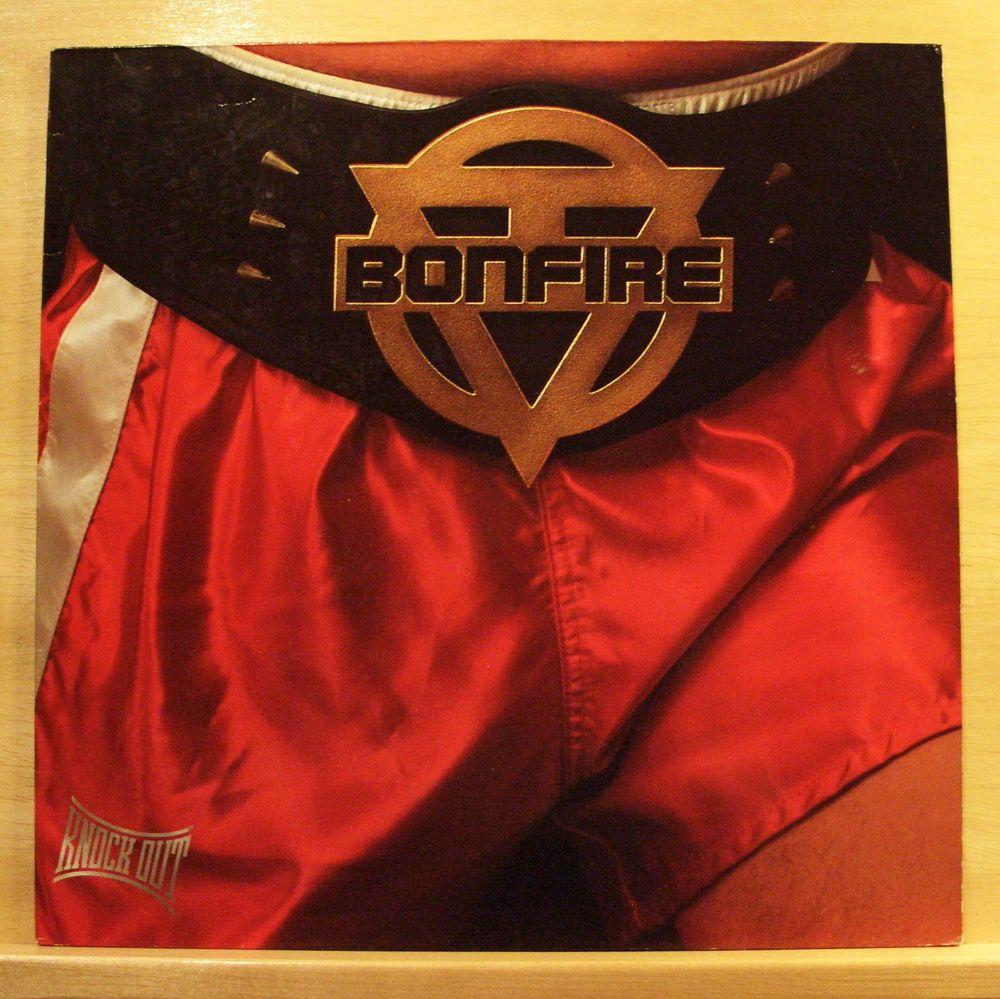 BONFIRE - Knock out - mint minus - Vinyl LP - OIS - Top Rare