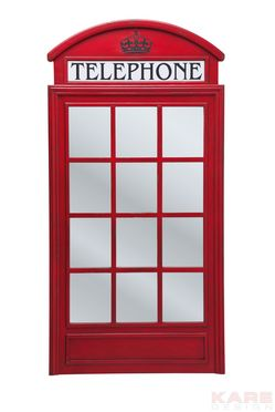 Mirrow London Telephone 140x70cm