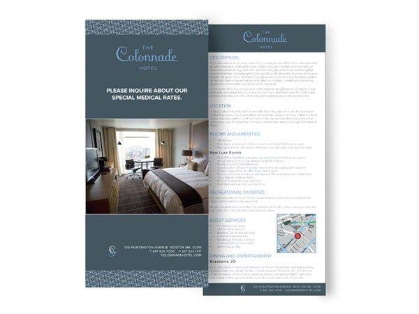 hotel rack card templates - Google Search   Rack Card Ideas ...
