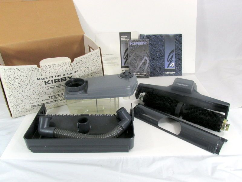 Kirby G4 Carpet Shampoo System Attachments With Box And Manual Kirby Carpet Shampoo Kirby Kirby Vacuum