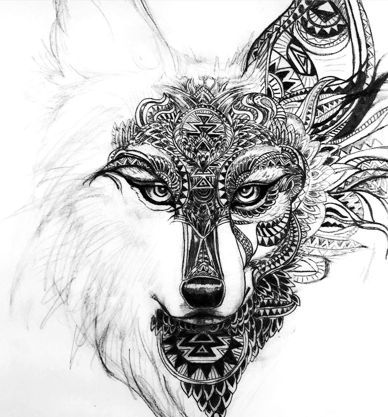 Pin by ludivine lbgn on ludi pinterest wolf tattoo and tatoo
