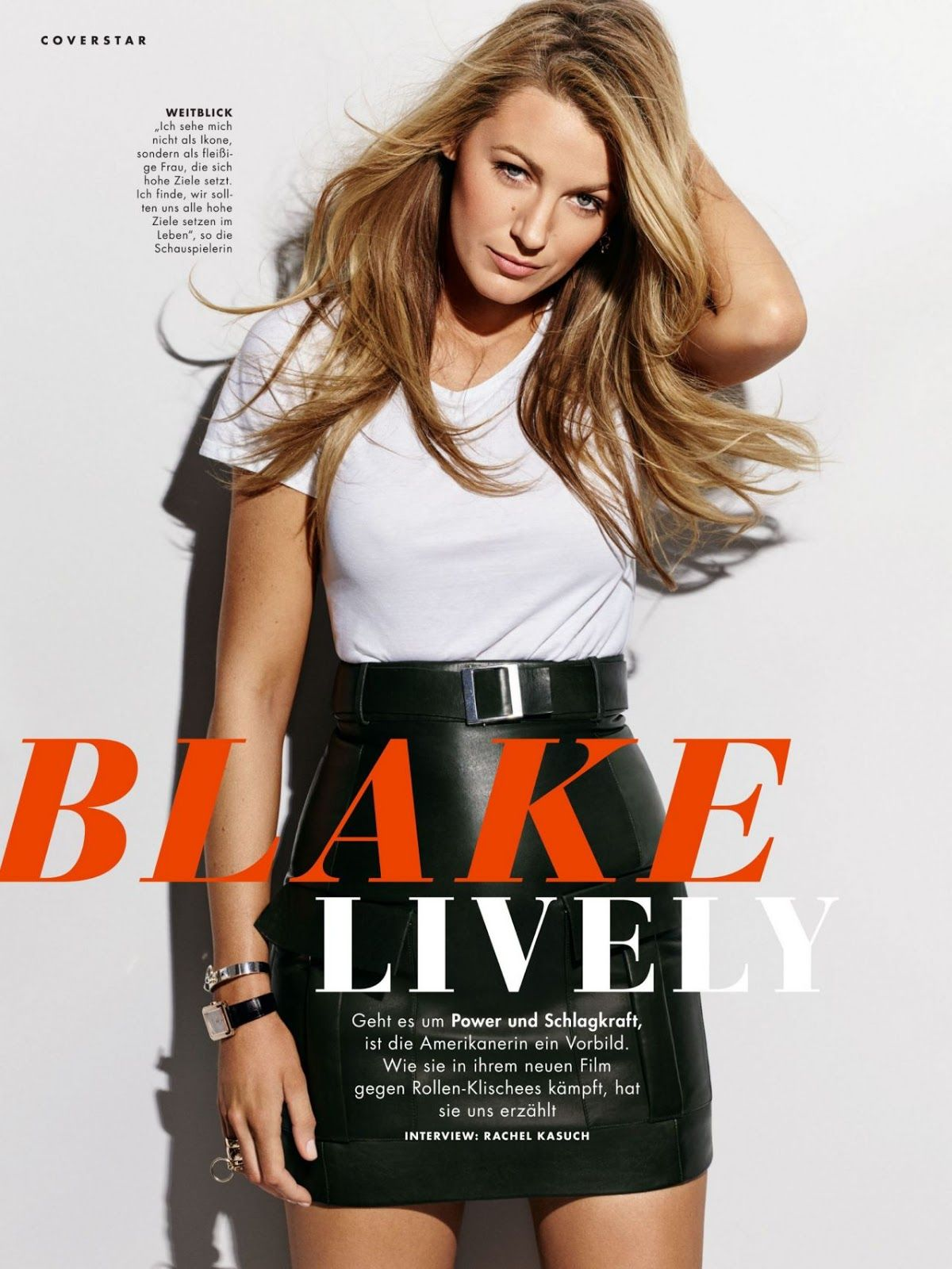 Blake Lively Cosmopolitan Germany July 2020 Issue In 2020 Blake Lively Glamour Celebrities
