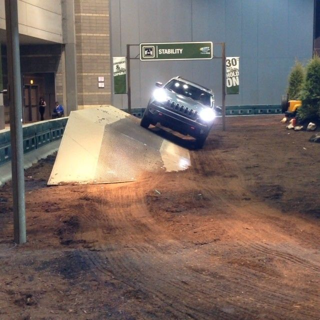 Toyota 4runner For Sale In Chicago: The All New 2014 Jeep Cherokee Trailhawk Takes On The Jeep