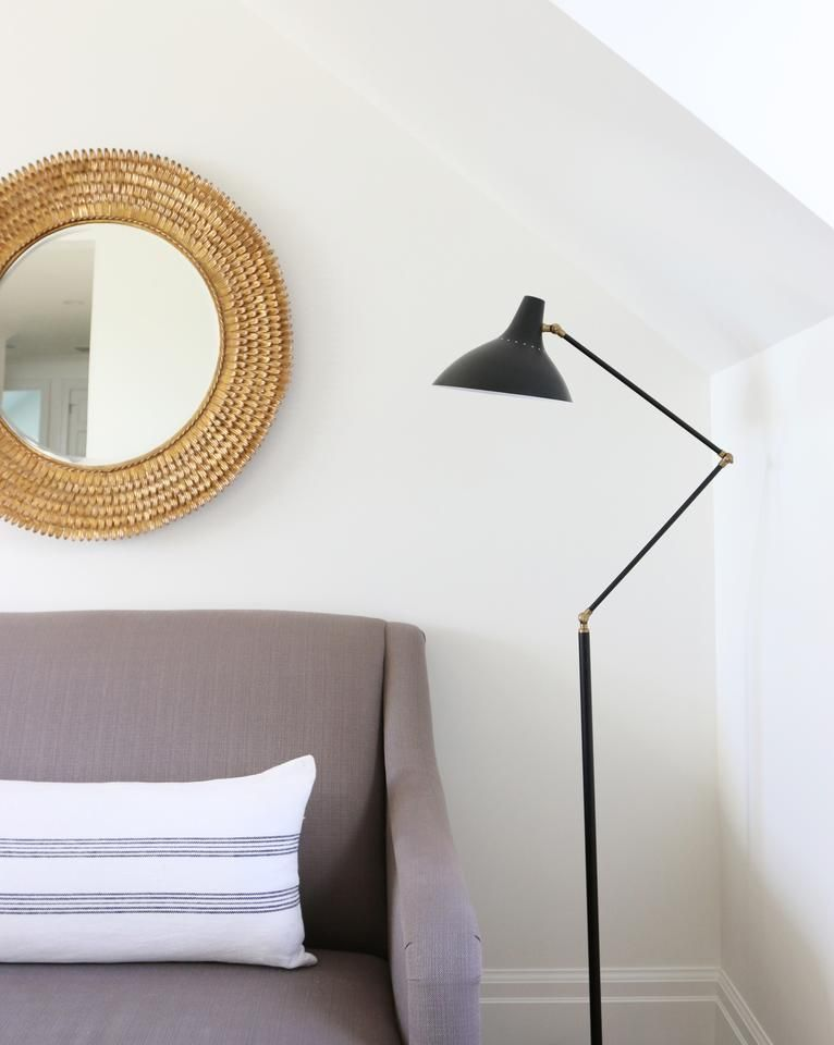 Charlton Floor Lamp Black With Brass Black Floor Lamp Floor