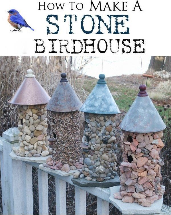 How To Make A Stone Birdhouse | IKEA Decoration
