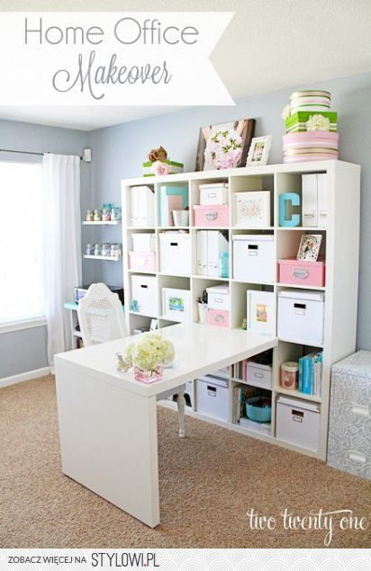 home office makeover diy projects for better organization pinterest n hzimmer b ros und. Black Bedroom Furniture Sets. Home Design Ideas