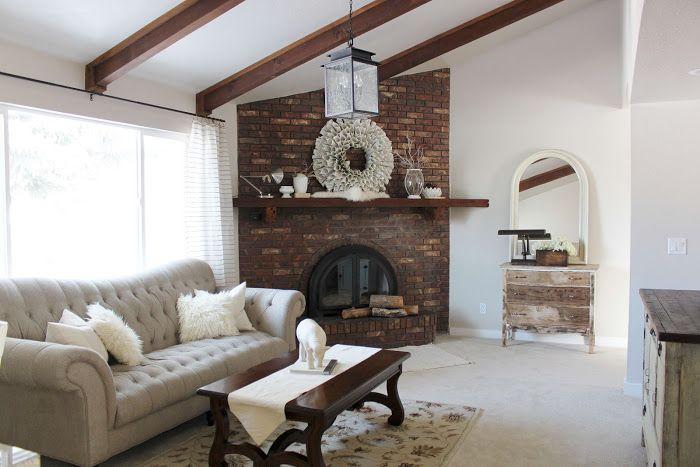 arranging furniture with a corner fireplace  corner