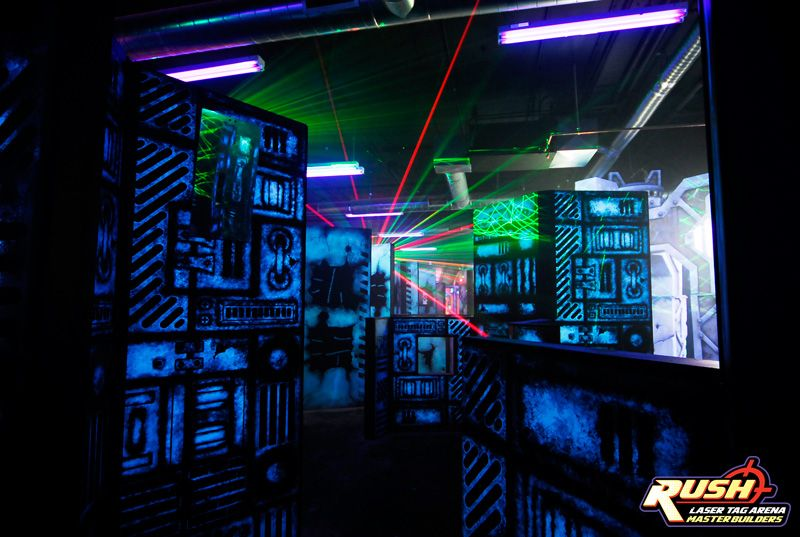 Rush Laser Tag Arenas Master Builders