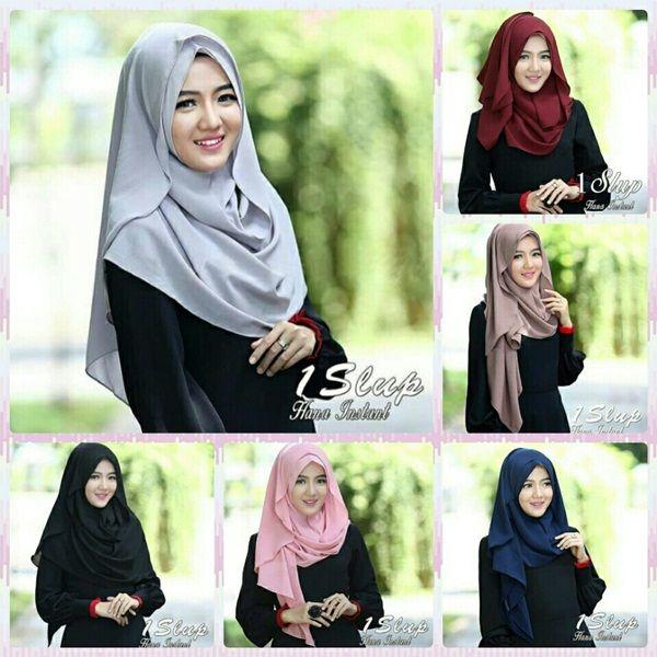 Jilbab Pashmina Instan Model Kerudung Terbaru Model Hijab Terbaru