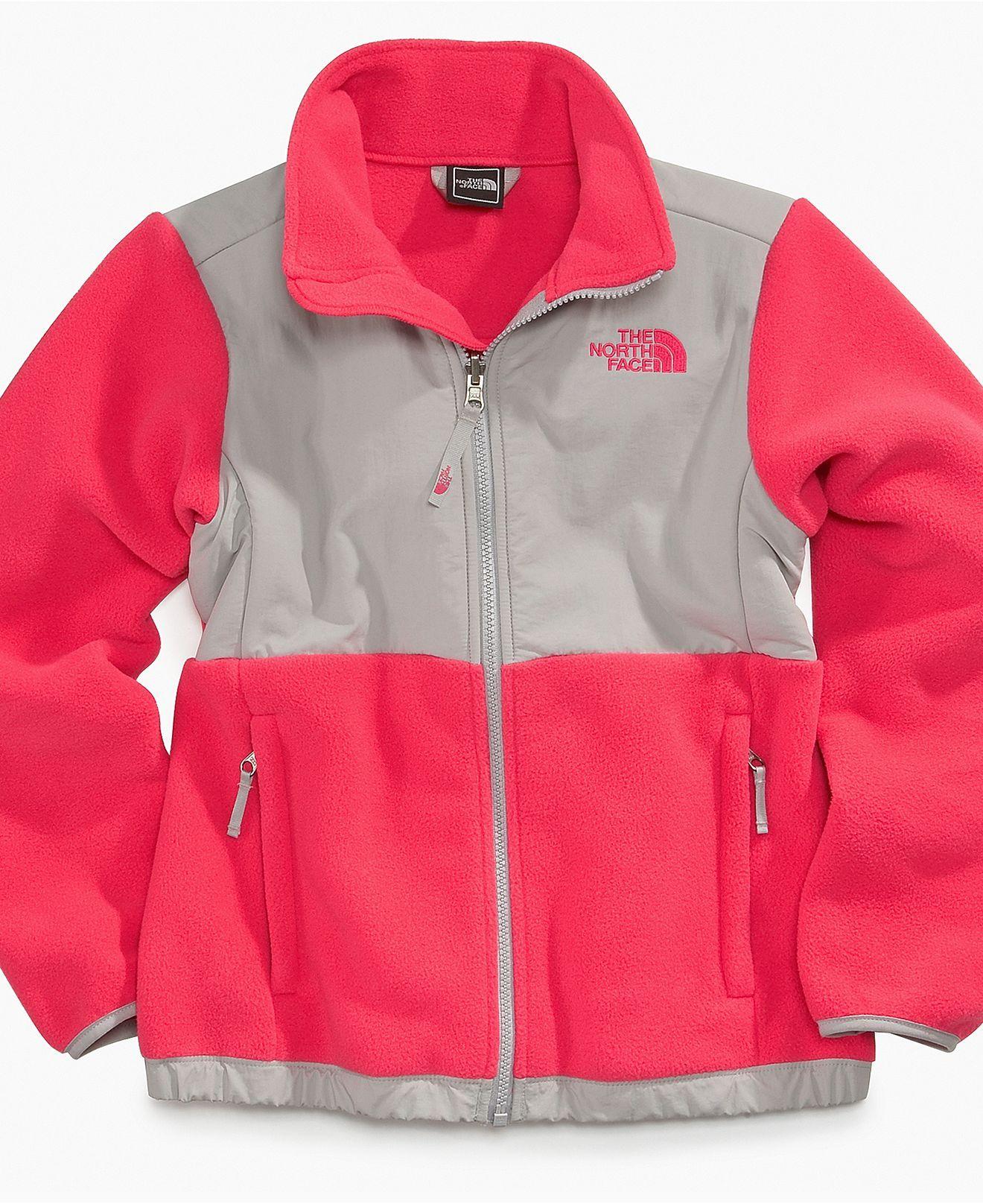 Love This Color Combo The North Face Kids Jacket Girls Denali Fleece Jacket Kids Girls 2 6x Macy S 109 00 North Face Kids Kids Jacket Girls Jackets Kids [ 1616 x 1320 Pixel ]