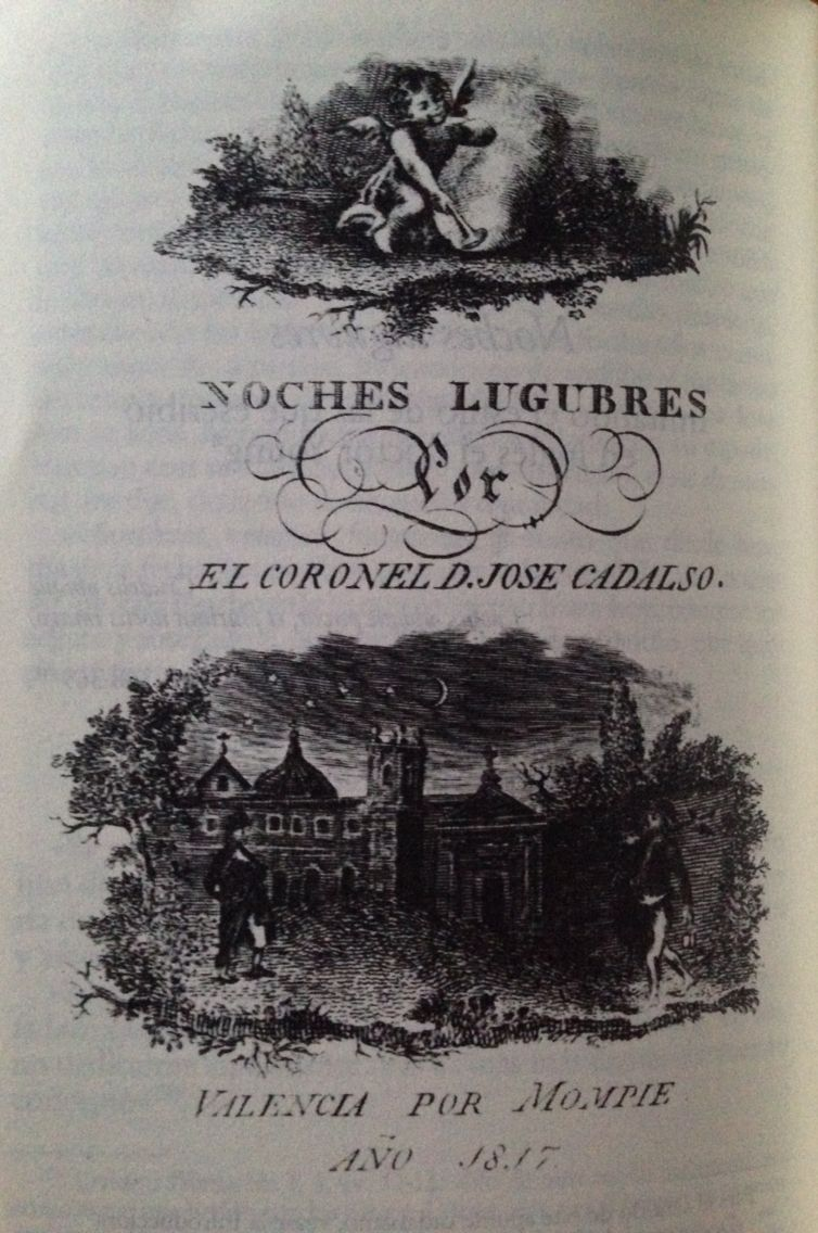 Noches lúgubres, José de Cadalso