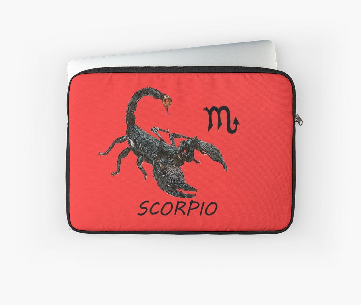 Scorpion astrology Laptop Sleeves