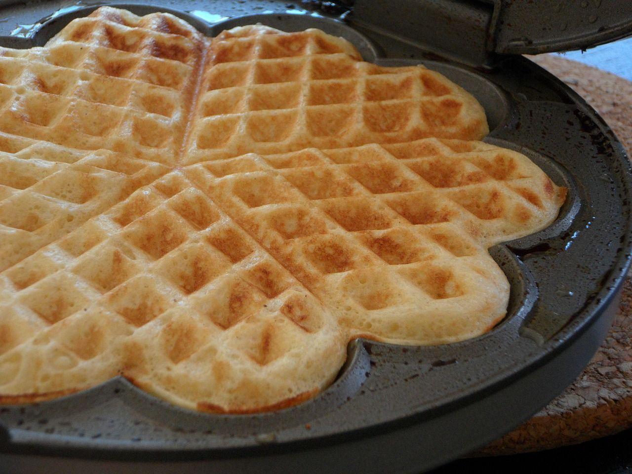 Best Brunch Ever Norwegian Sour Cream Waffles Recipe Waffle Recipes Food Waffles