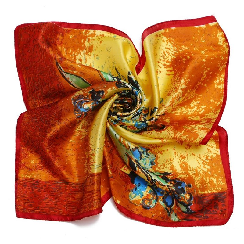 cbbda26ccde Pas cher Ling   mode pour femmes 100% foulards de soie