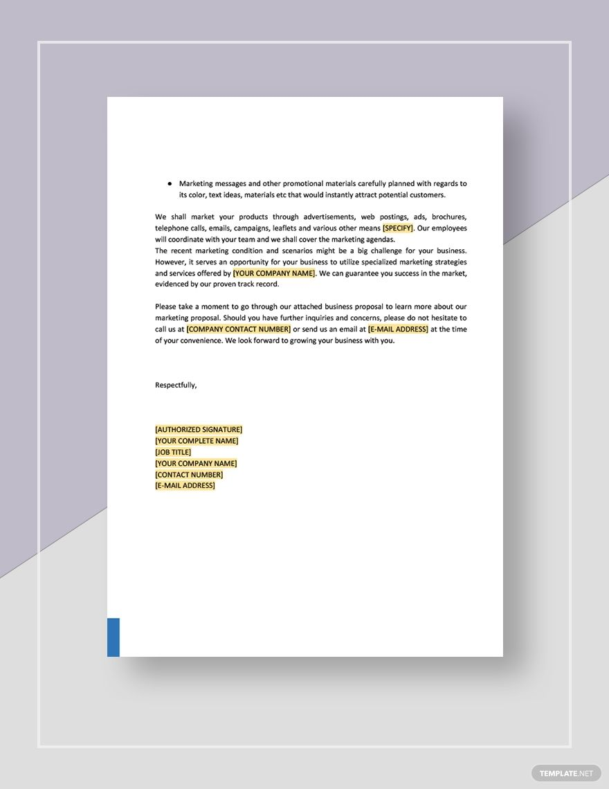 Product Marketing Proposal Template Free Pdf Google Docs Word Apple Pages Pdf Template Net Marketing Proposal Marketing Proposal Template Proposal Templates
