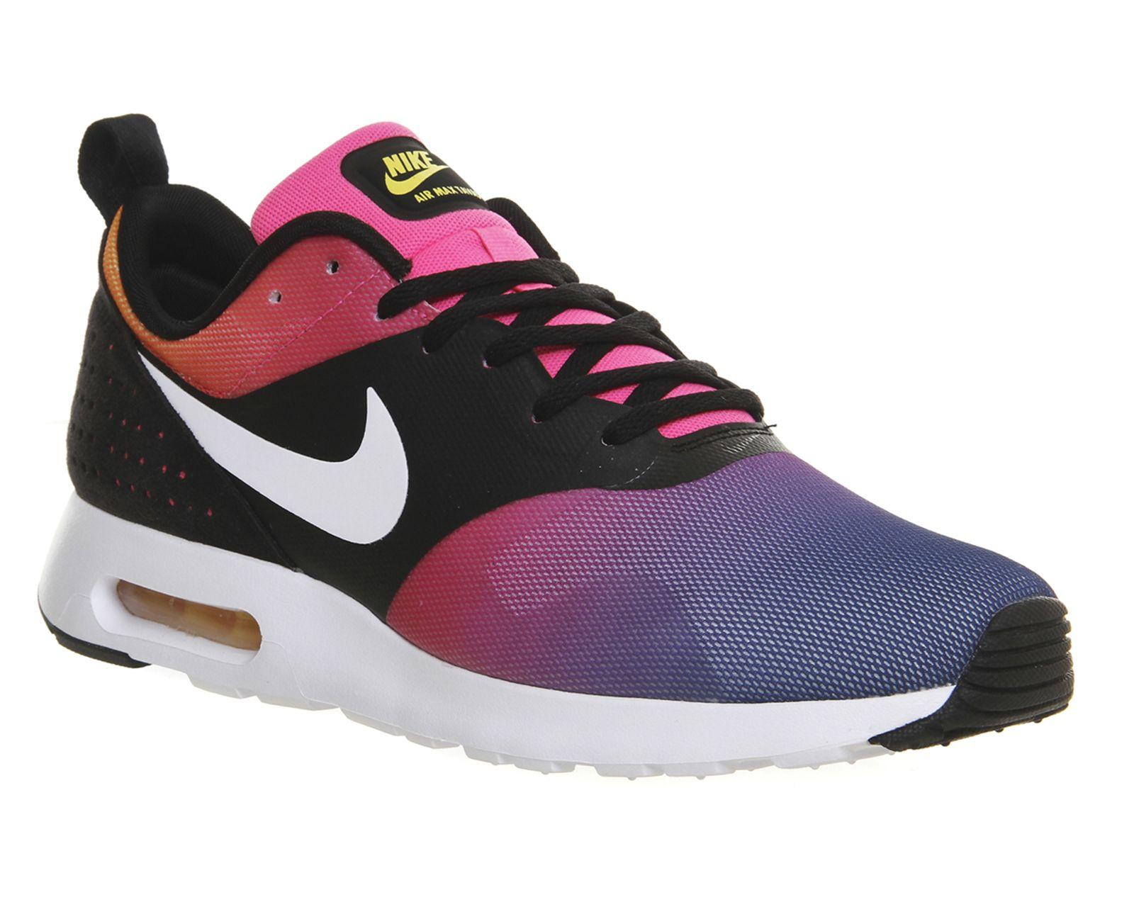 1e635f0f70 Nike Air Max Tavas Black White Pink Pow Yellow Sd | Shoes!!!! | Nike ...