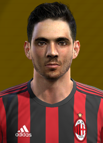 Patrick Cutrone Face For Pro Evolution Soccer 2012 Pes2013