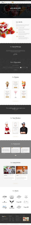 FoodPro Pizza - Icecream - Bakery - Restaurant Multipurpose Template ...