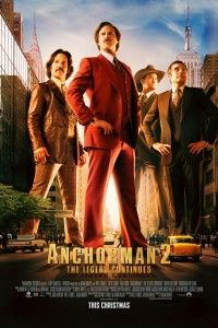 Anchorman 2: The Legend Continues (2013) movie poster