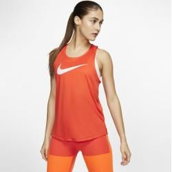 Nike Swoosh Damen-Tanktop - Orange Nike #perfecteyebrows