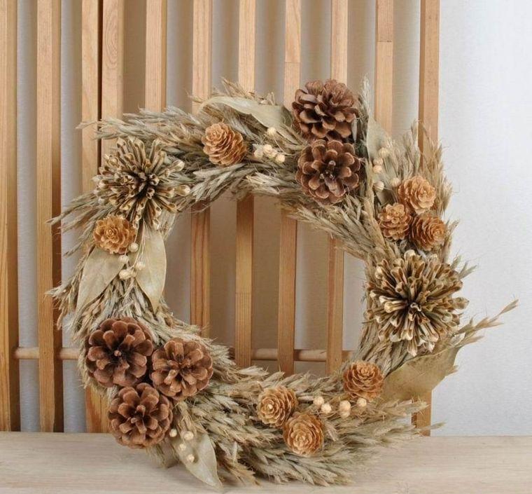 flores secas para decorar la pared Escaparates Pinterest