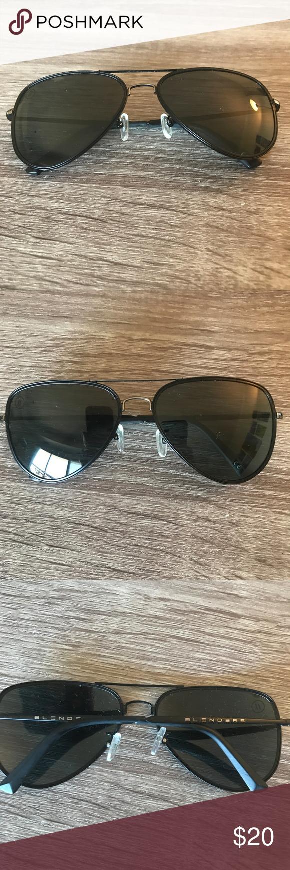 f7c231979e8 Blenders Spider Jet Polarized Aviator Sunglasses Black Spider Jet polarized  aviator sunglasses from Blenders Eyewear.