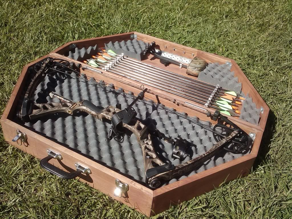 Diy bow case huntin 39 pinterest diy bow archery and for Homemade rack case