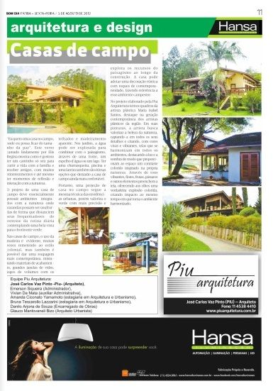 49° Jornal Bom dia - Casas de Campo  03 -08-12