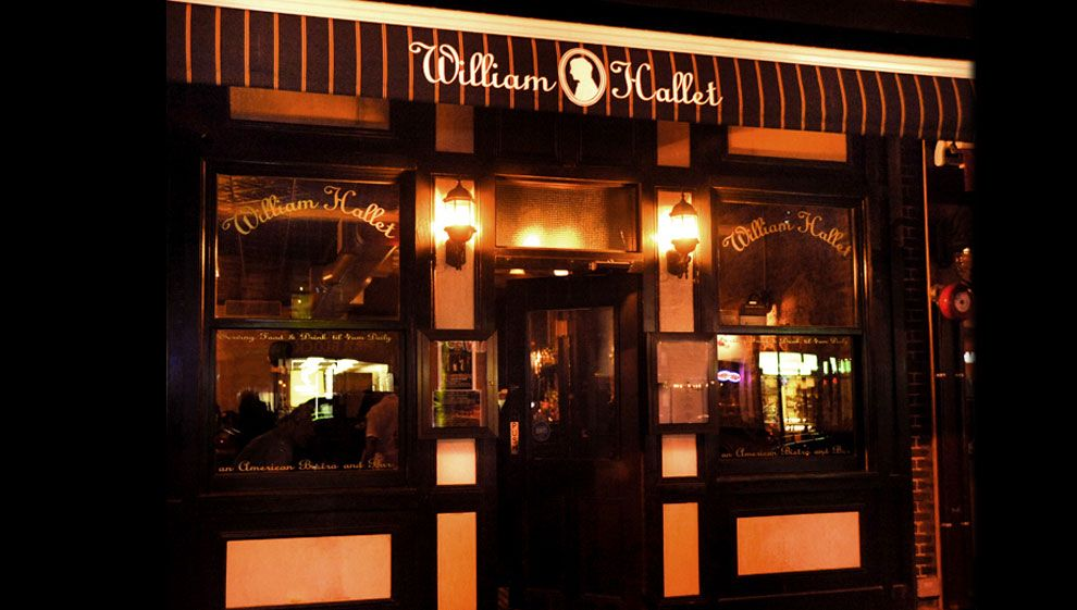 Astoria Bar, William Hallet - This bar is named after my 9th Great Grandfather.  Would be fun to visit someday.