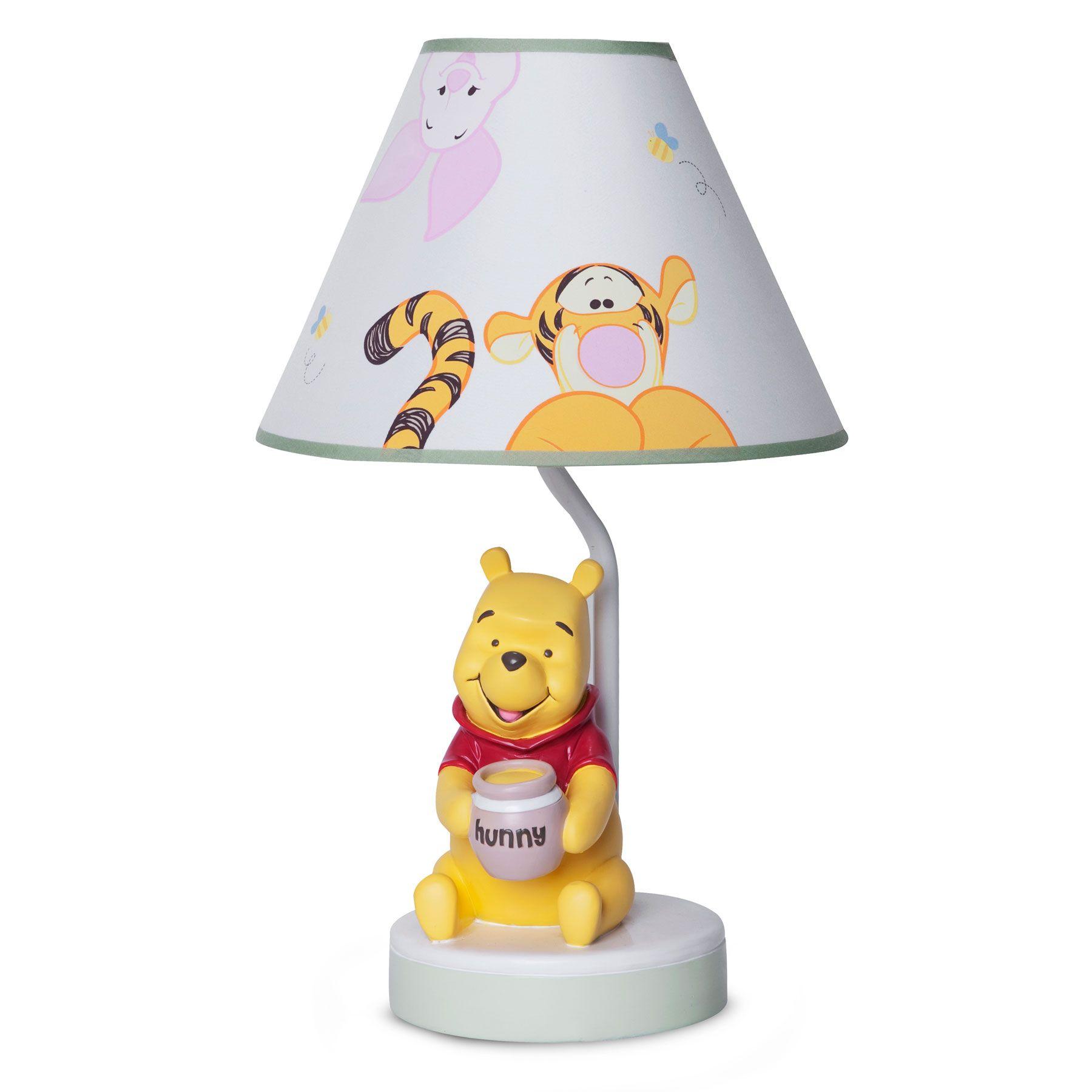 Winnie the pooh lamp and shade peeking pooh mi nia winnie the pooh lamp and shade peeking pooh aloadofball Images