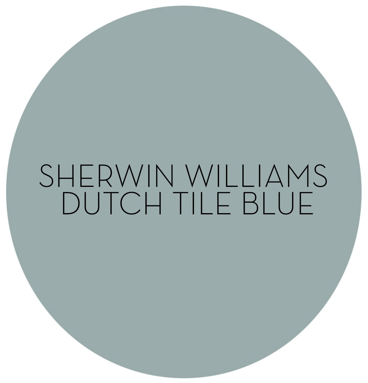 hello color how to decorate with sherwin williams dutch tile blue paint colors pinterest. Black Bedroom Furniture Sets. Home Design Ideas