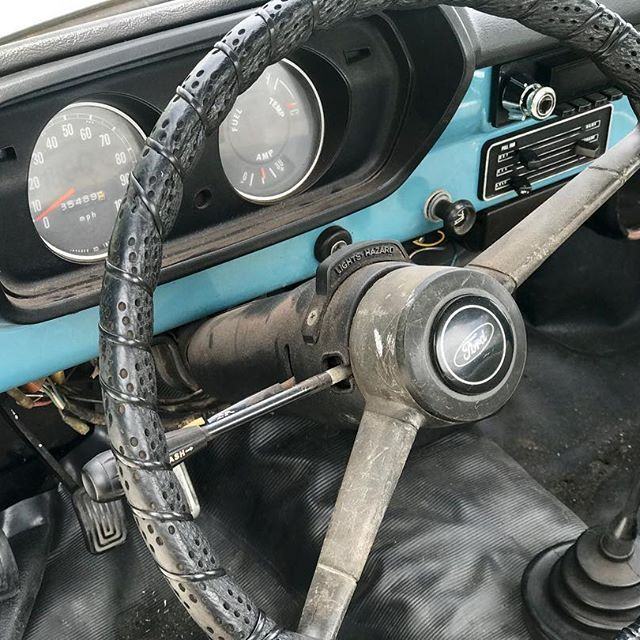 Ford Courier Interior
