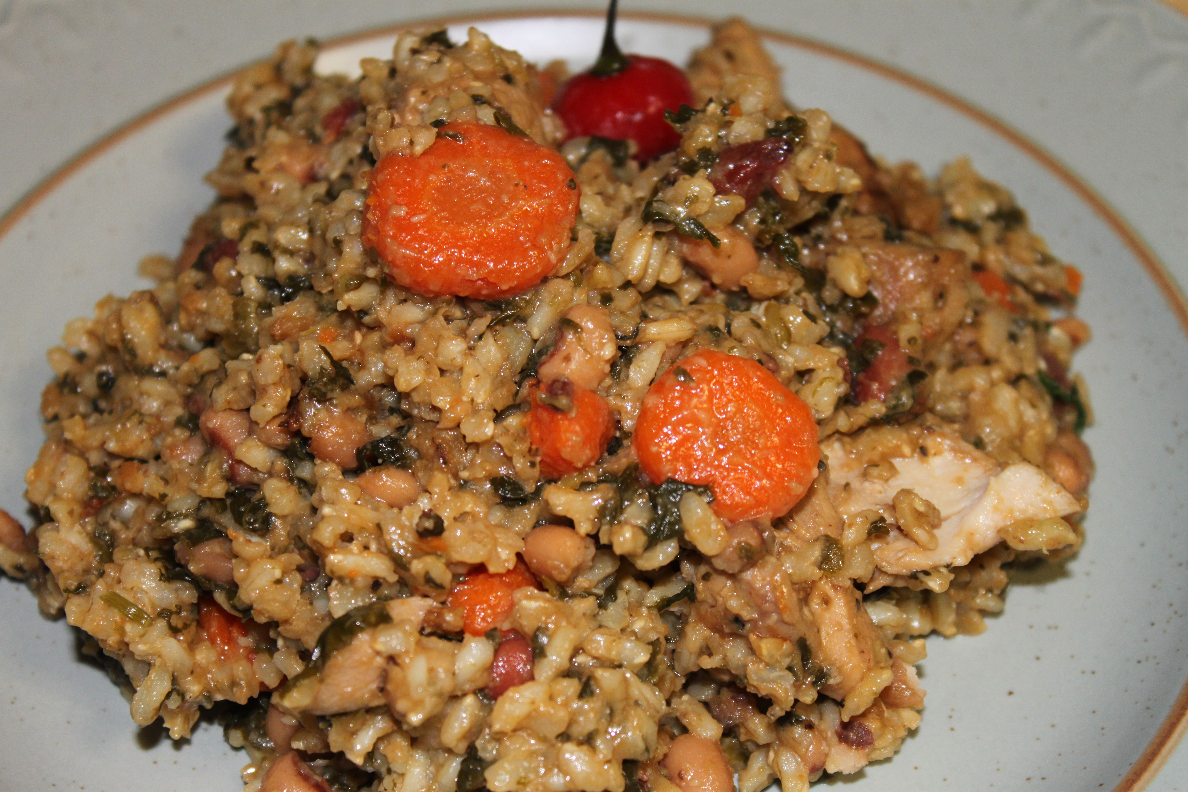 Healthy Guyanese Cook Up Rice | Guyanese recipes, Haitian ...